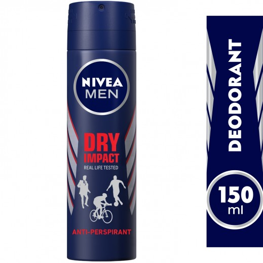 Nivea Men Dry Impact Deodorant Spray 150ml