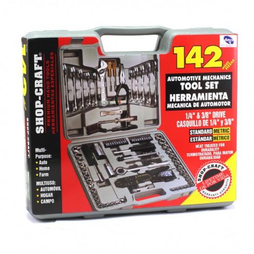 Amco 142 Pcs Tool Set – Gray