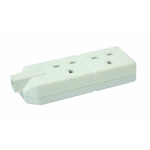 Permaplug 2G Extension Rubber Without Wire - White