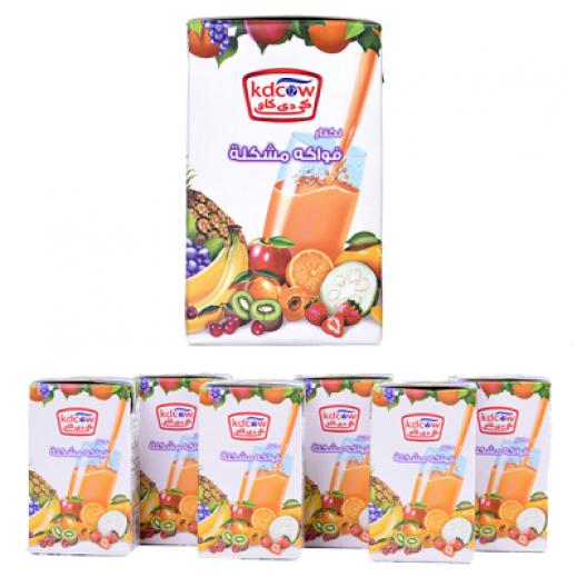 KDCOW Nectar Cocktail Juice 6x250 ml