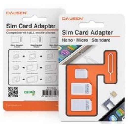 Dausen Sim Card Adapter