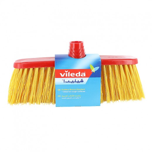 Vileda Outdoor Red Broom Bumper & Stick