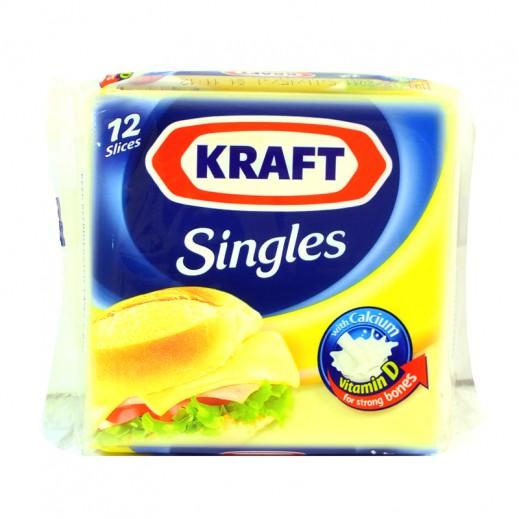 Kraft Cheddar Cheese Singles 200 g