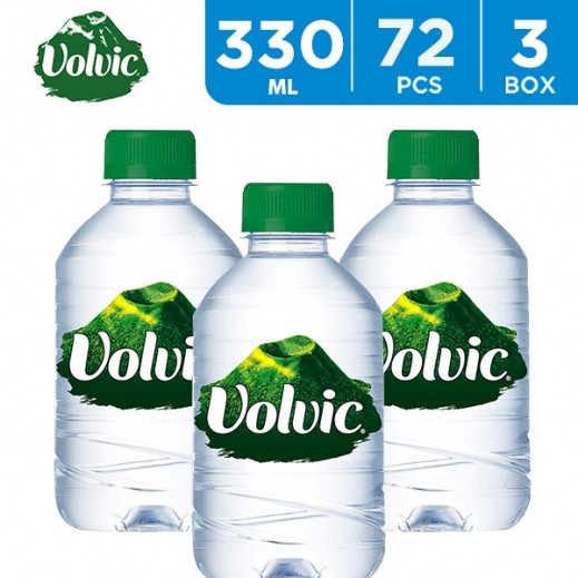 Wholesale - Volvic Mineral Water 330 ml (3 x 24)