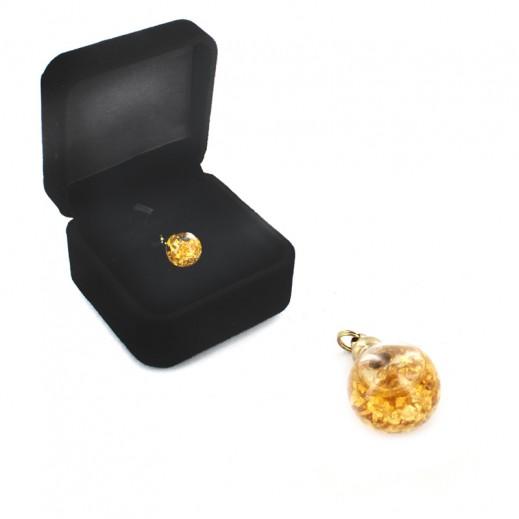 Q Best 24K Gold Foil Pendant