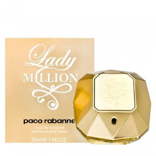 Paco Rabanne Lady Million For Her EDT 50 ml