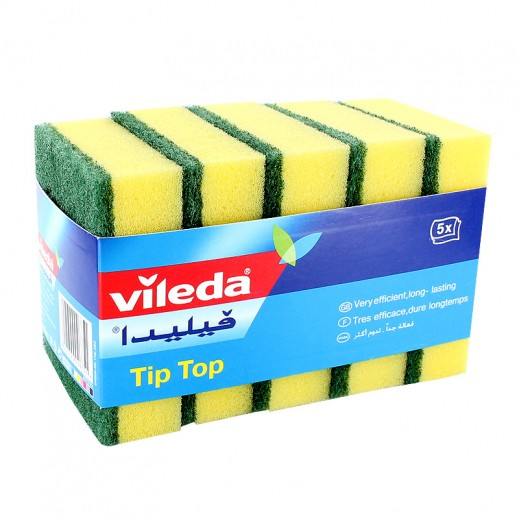 Vileda Tip Top Scourer 5 pieces