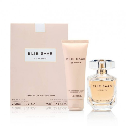 Elie Saab Le Parfum Gift Set For Her EDP 90 ml + Body Lotion 75 ml