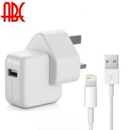 ABC iMax 3 Pin Adapter with Lightning Cable for iPad Air/iPad Mini/iPad 4