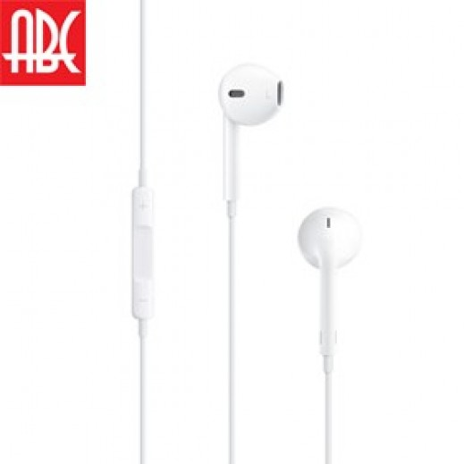 ABC Handsfree Stereo Headset with Remote and Mic for iPhone 5 & 6/ 6S