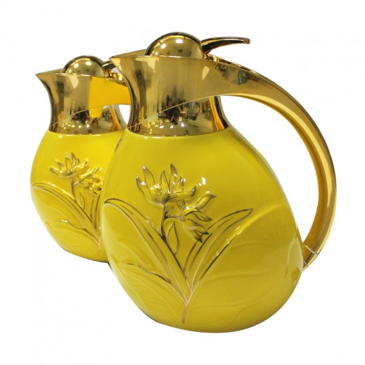 ASC Ceramic RDO Flask 2 pieces Set Yellow