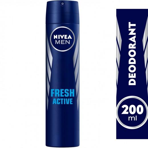 Nivea Men Fresh Active Deodorant Spray 200 ml