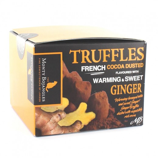 Monty Bojangles Warming & Sweet Ginger Cocoa Dusted Truffles 100g
