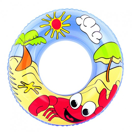 Bestway Beach Graphic Swim Ring
