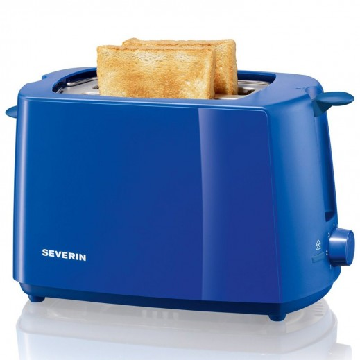 buy severin germany 2 slice automatic toaster blue. Black Bedroom Furniture Sets. Home Design Ideas