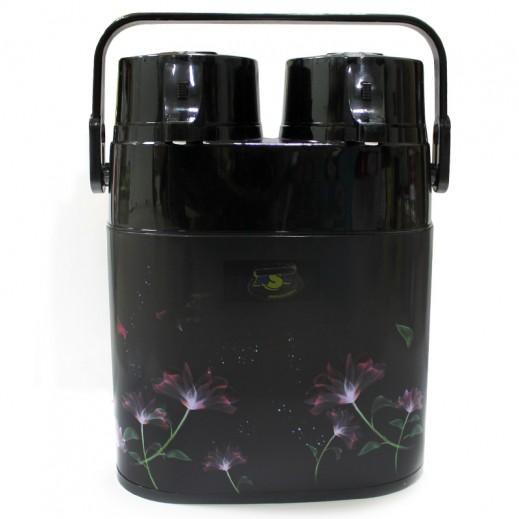 ASC Twin Airpot Flask 2.6 ltr Black