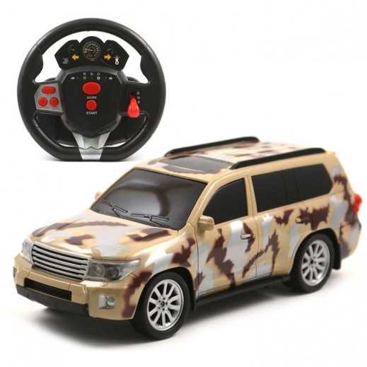 Desert king Charging Rc Army Car