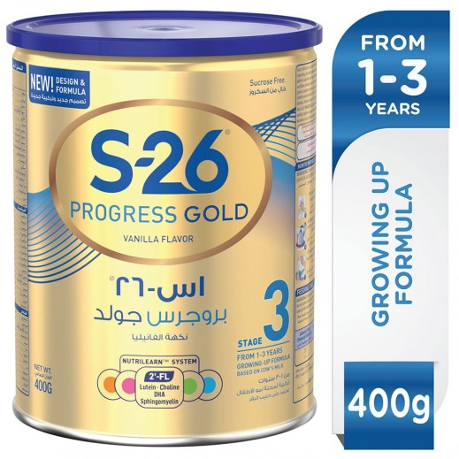 S-26 Progress Gold Stage 3 400 g  (From 1 - 3 Years)