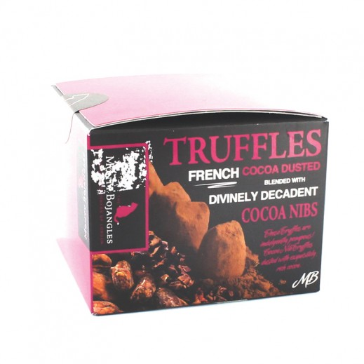 Monty Bojangles Divinely Decadent Cocoa Nibs Dusted Truffles 100g