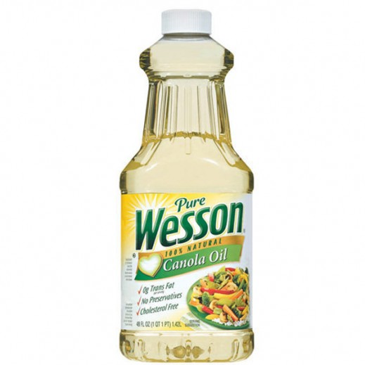 Wesson Canola Oil 710 ml