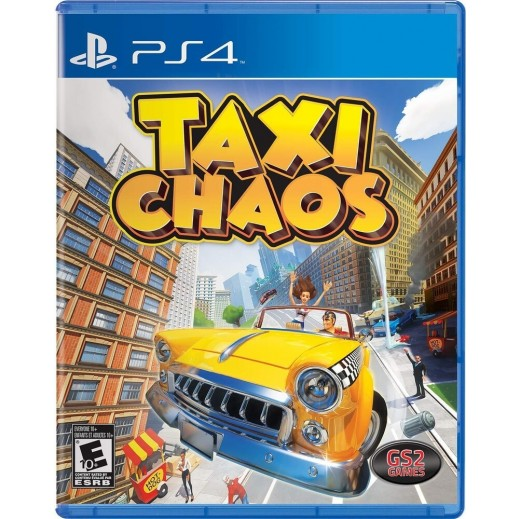 Taxi Chaos US for PS4