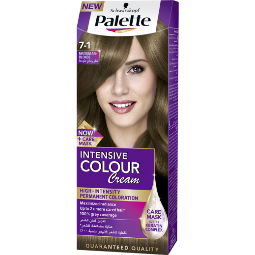 Palette Intensive Colour Cream 7-1 Medium Ash Blonde 50 ml