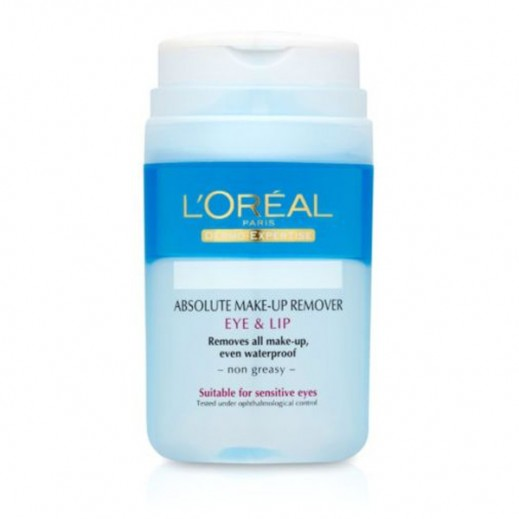 L'Oreal Paris Makeup Remover For Eyes & Lips 125 ml