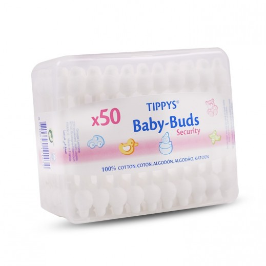 Tippys Baby Tips 50 Pieces