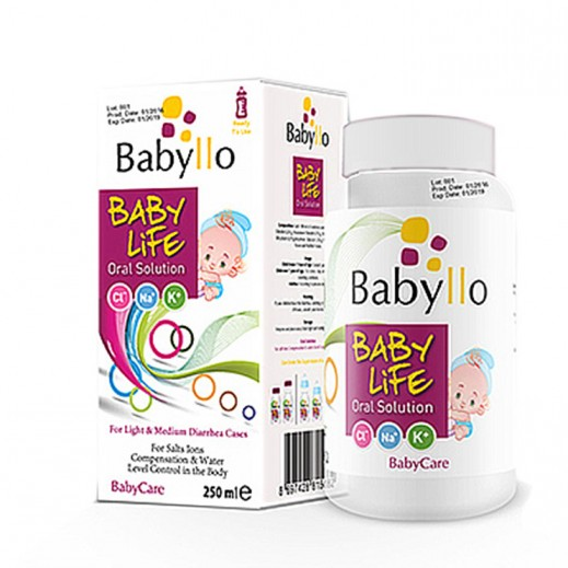Babyllo Baby Life Oral Solution For Light & Medium Diarrhea 250 ml