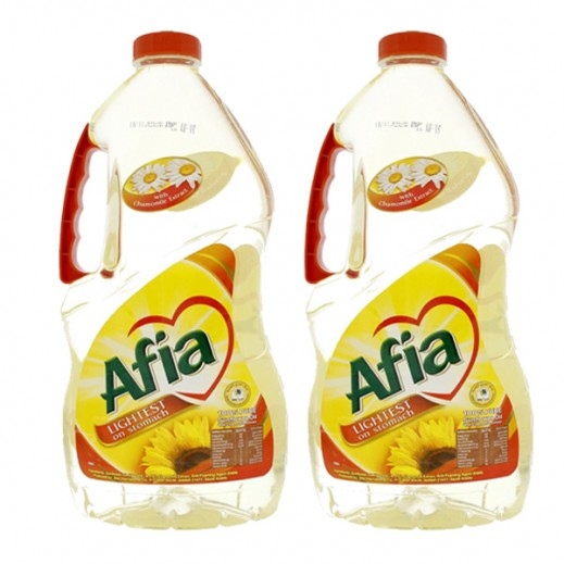 Afia Sunflower Cooking Oil 2x1.8 L Promo Pack