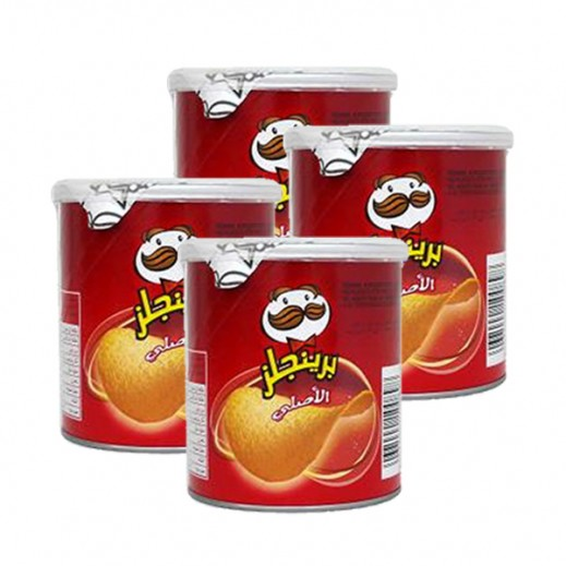 Pringles Original Potato Chips 4 x 40 g