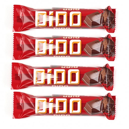 Ulker Dido Chunky Bar Chocolate 38 g (4 Pieces)