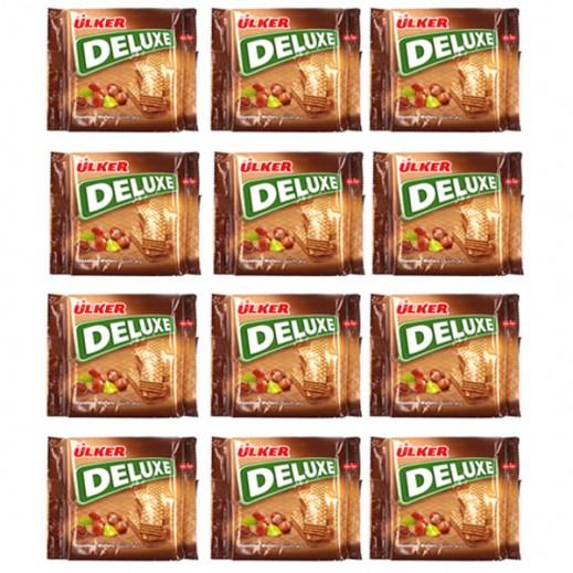 Ulker Deluxe Hazelnut Wafers 40 g (12 Pieces)