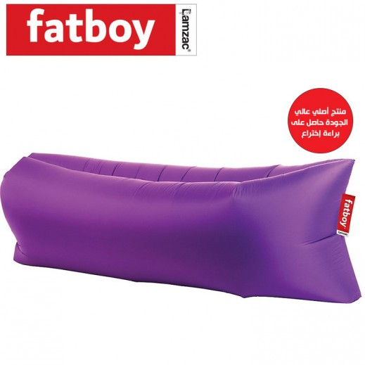 buy fatboy lamzac the original lounge purple chair. Black Bedroom Furniture Sets. Home Design Ideas