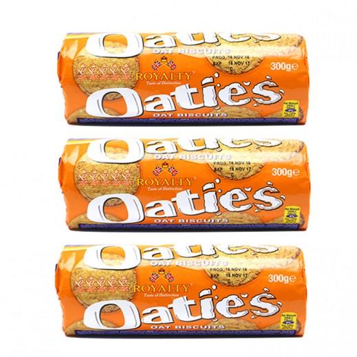 Valuepack - Royalty Oaties Oat Biscuits 300 g (3 Pieces)