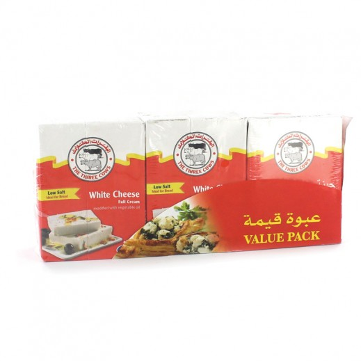 Three Cow White Cheese 3x200g (10 % off Prom)