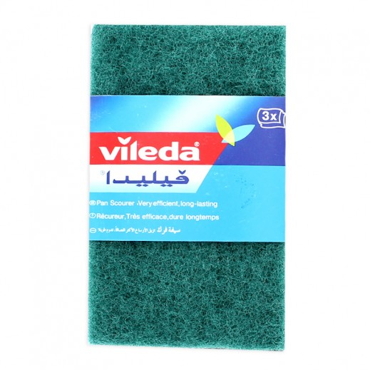 Vileda Scouring Pads Handy Trio 3 pieces
