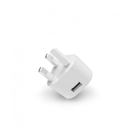 Parmp Travel Adapter Dual USB Devices 5V - White