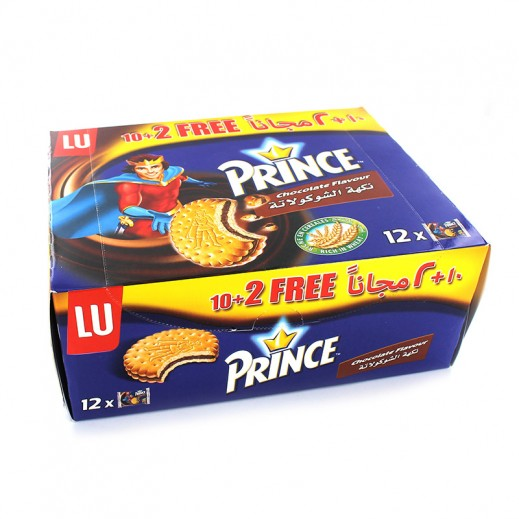 Lu Prince Chocolate Biscuits 480 g (12 Pieces)