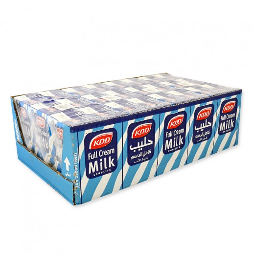 KDD Full Cream Milk Carton 24 x 250 ml