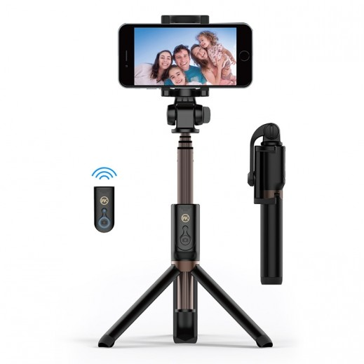 WK Design Bluetooth Selfie Stick – Black