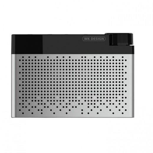 WK Design Bluetooth Speaker - Silver