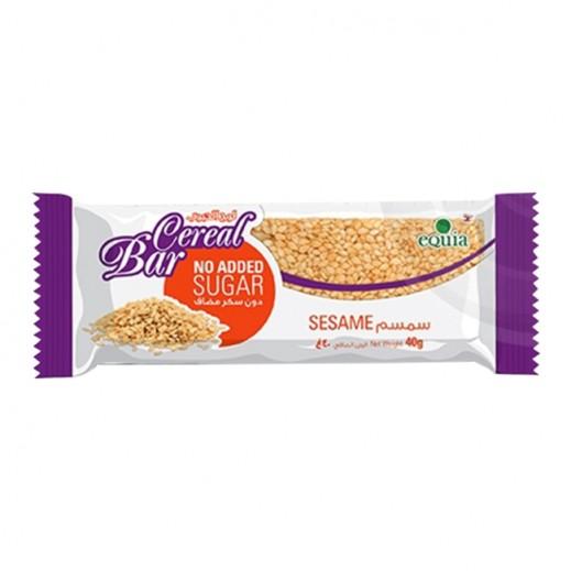 Equia Cereal Bar Sesame 40 g