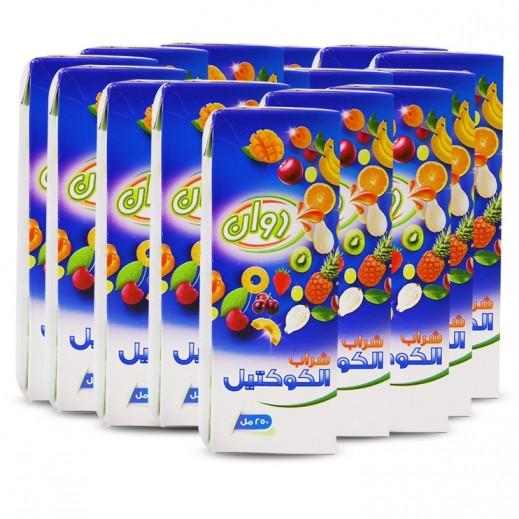 Rawan Cocktail Drink Juice 6x250 ml