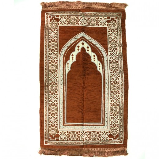 Prayer Mat with Fragrance - Brown