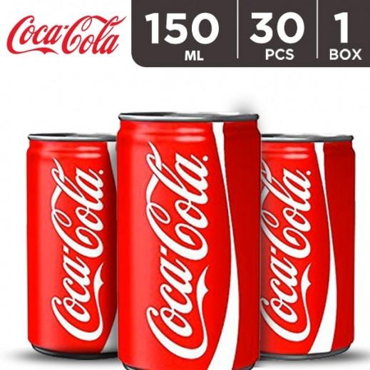 Coca Cola Can Carton 30 x 150 ml