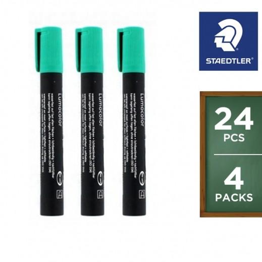 Wholesale - Staedtler Permanent Marker Green 352-5 (24 pieces)