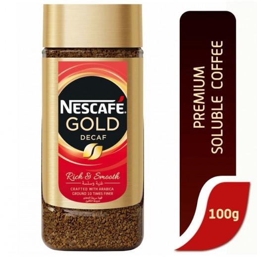 Nescafe Gold Decaf Instant Coffee Jar 100 g