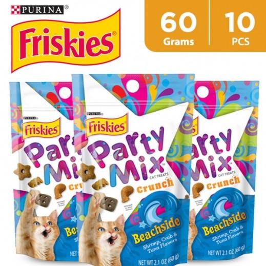 Wholesale - Friskies Party Mix Beachside (Cats Treats)  60 g (10 Pieces)