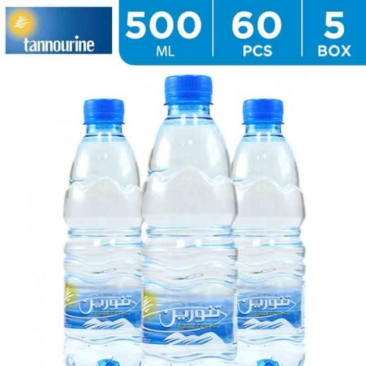 Tannourine Drinking Water 500 ml (5 x 12)